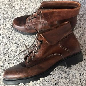 Vintage Leather Ankle Boots 9